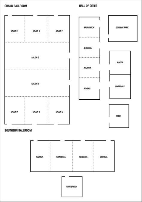 atlanta airport floor plan 21 best images about atlanta venue floor plans on