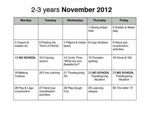 november preschool lesson plan images frompo