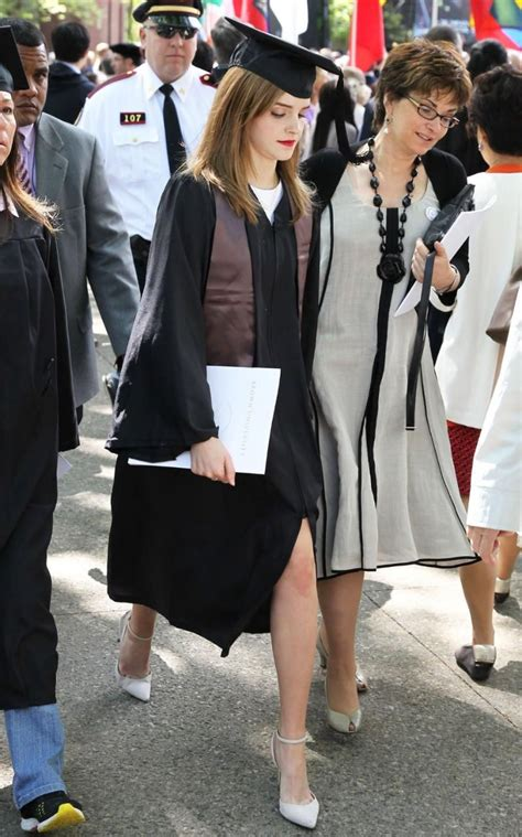 emma watson graduation dress how to dress for your graduation brown university and