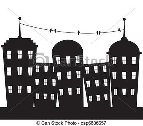 imagenes a blanco y negro de ciudades ilustraciones vectoriales de ciudad blanco negro