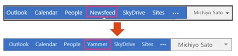 sharepoint 2013 top navigation bar how to add yammer to the office 365 global navigation bar