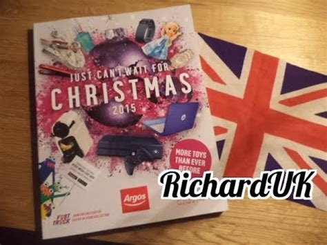 argos christmas gift guide 2015 richarduk youtube