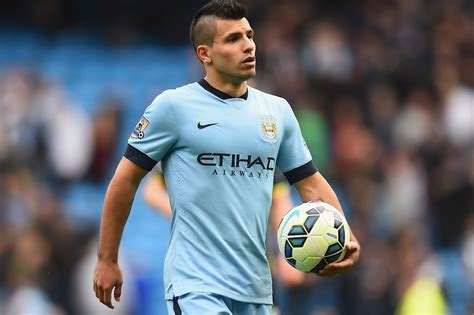 aguero best soccer player haircuts sergio aguero misses man city training ahead of must win