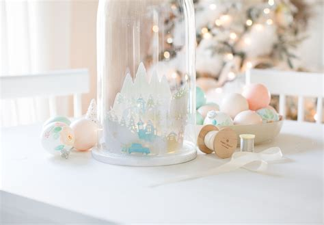 Cricut Giveaway 2017 - paper christmas village cloche and a cricut kit giveaway