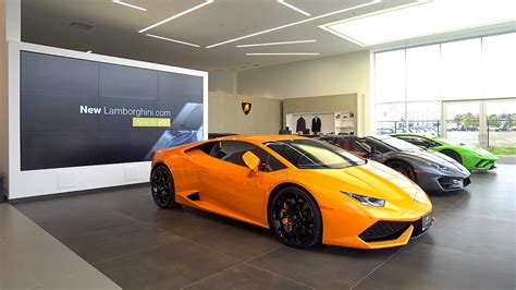 lamborghini dealership a tour of lamborghini uptown toronto s dealership