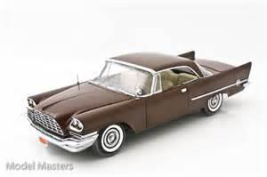 1957 brown chrysler 300c diecast model car diecast model cars