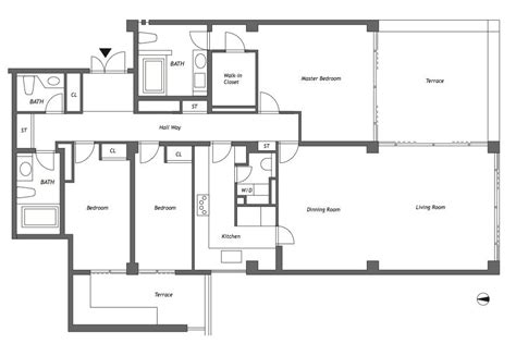 housing floor plans rokko housing ii paramount rokko 1102 floor plan