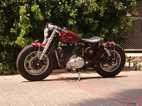 modified bullet classic 350 modified royal enfield classic 350 into a bobber