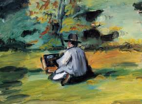 Painting Work a painter at work 1875 paul cezanne wikiart org