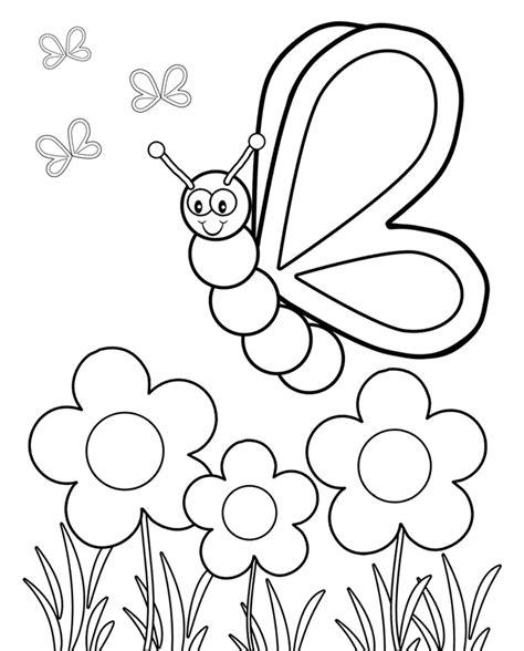 imagenes infantiles para colorear de flores flores infantiles para colorear e imprimir archivos