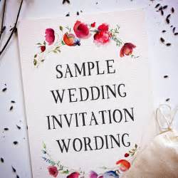wedding invitation wording creative and traditional a