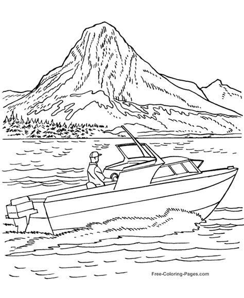 boat drawing activity printable coloring pages of boats