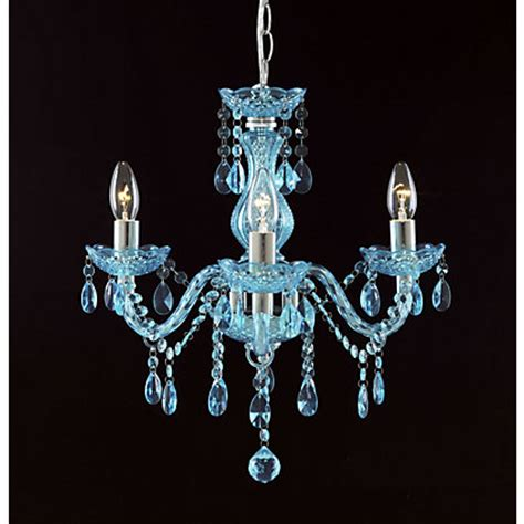 Homebase Chandelier Therese 3 Light Chandelier Teal At Homebase Be Inspired And Make Your House A Home