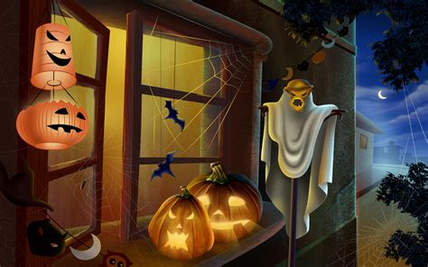 pc horror themes scary halloween 2012 hd wallpapers pumpkins witches