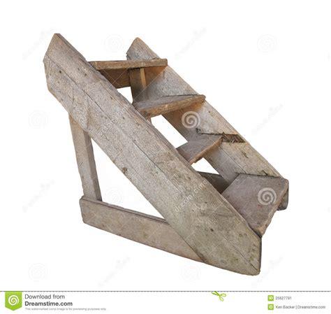 Free Tiny House Plans old wood set of steps isolated stock image image 25627791