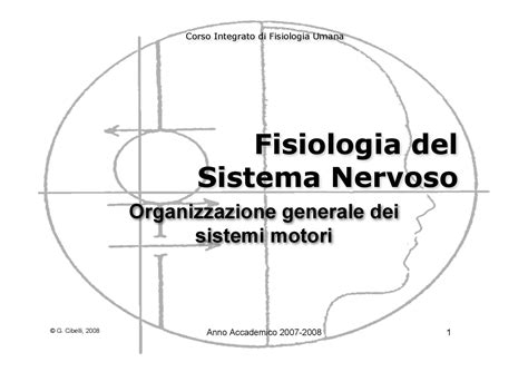 dispense fisiologia umana fisiologia umana ii organizzazione generale dei sistemi