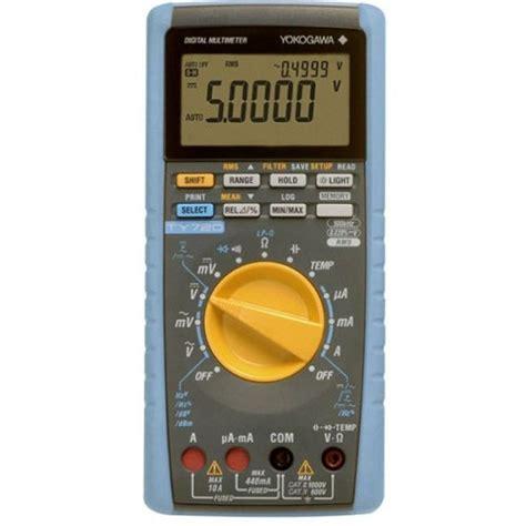 yokogawa ty720 digital multimeter tools