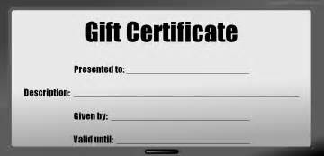 blank gift cards blank birthday gift certificates www imgkid the image kid has it