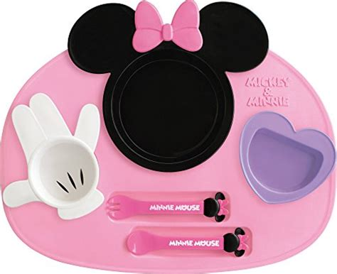 Nishiki Kasei Disney Minnie Mouse Lunch Plate Meal Set Japan Seller Central On Marketplace
