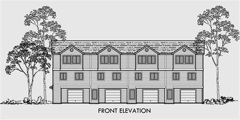 fourplex house plans multi family house plans duplex plans triplex plans 4 plex plan