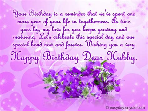 Husband Birthday Card Message Birthday Messages For Your Husband Easyday
