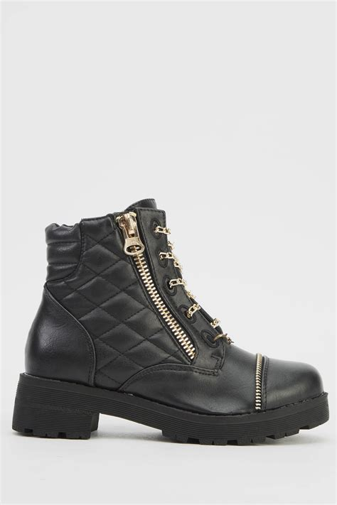 lace up biker boots chain lace up biker boots just 163 5