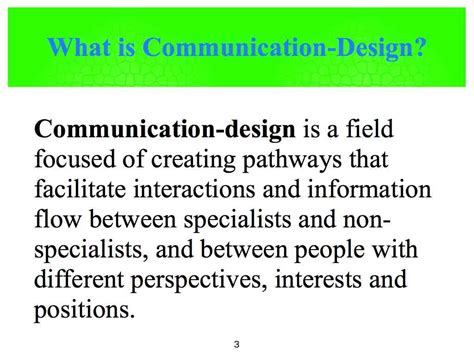 design is communication what is communication design