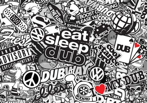printable vinyl sheets south africa x4 black white vdub sticker bomb sheets a4 sticker