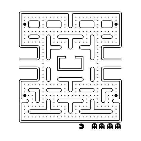 Geometric Wall Stickers pacman video game vinyl sticker