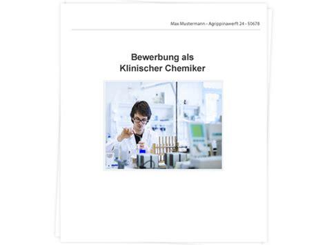 Lebenslauf Als Chemiker Klinischer Chemiker Bewerbung Tipps Zu Anschreiben Und Lebenslauf