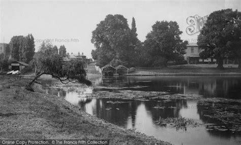 river thames map shepperton shepperton river thames 1890 francis frith