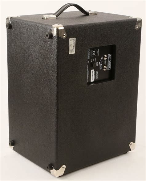 1x12 Bass Cabinet by Fender Rumble 112 1x12 Quot Bass Cabinet Reverb
