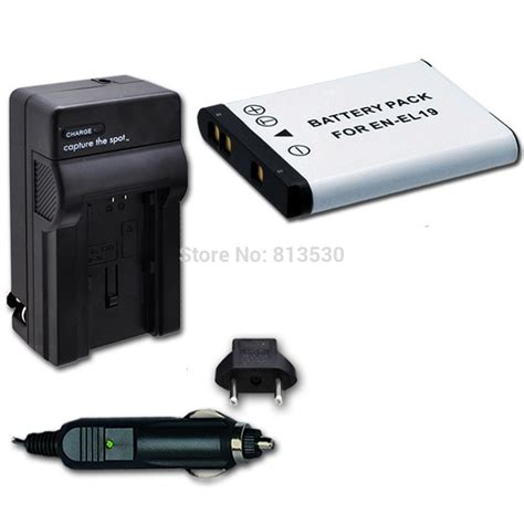 Nikon En El 19 Enel 19 En El19 Battery Pack Baterai Kamera aliexpress buy en el19 enel19 el19 battery and