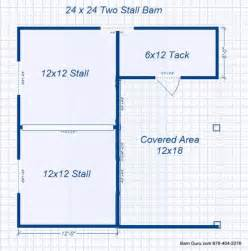barn plans 2 stall horse barn design floor plan barns