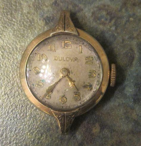 vintage bulova wrist 10k rgp 1940 era