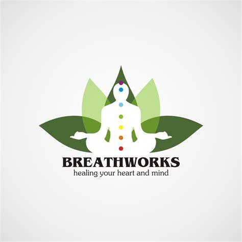 logo design yoga new logo design for breathworks hiretheworld