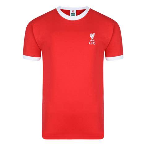 Tshirt Liverpool Fc 4 liverpool 1973 no7 shirt liverpool retro jersey score draw