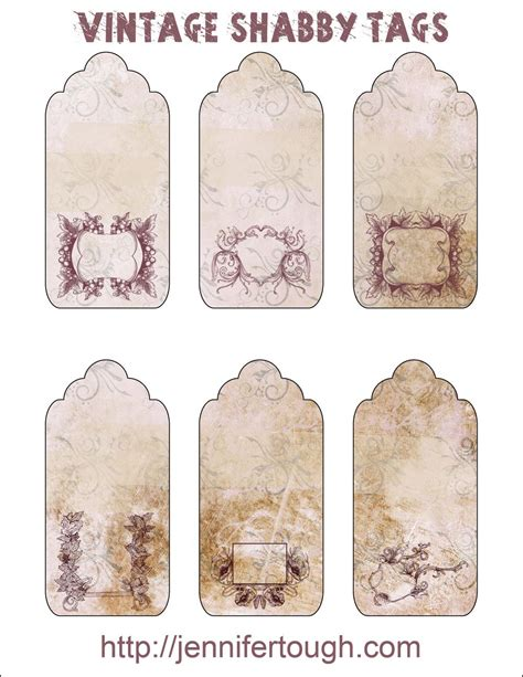 printable vintage tags free i m going to have to delay my etsy update until next week