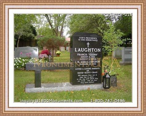 bench headstones gravestones bench headstones
