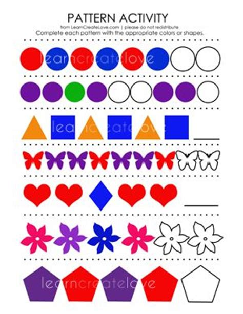pattern activities in maths 1000 images about new entrants pattern maths on pinterest