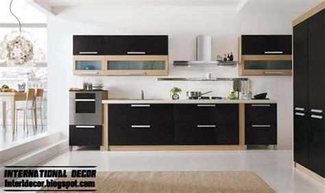 modern black kitchen designs ideas furniture cabinets