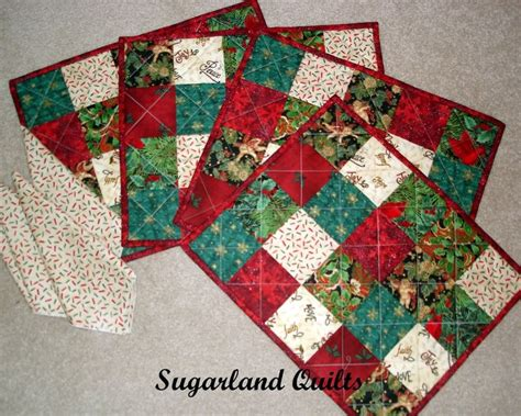 Patchwork Placemat Patterns - american vintage quilts through the year for