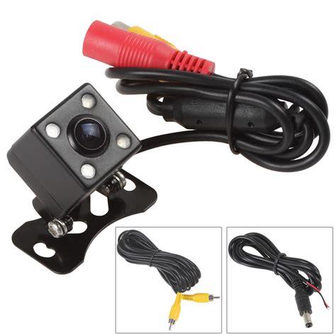Lu Led Mobil Belakang kamera belakang mobil dengan 4 led vision black