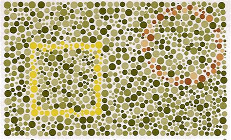 Brown Color Blindness tests for green colorblindness