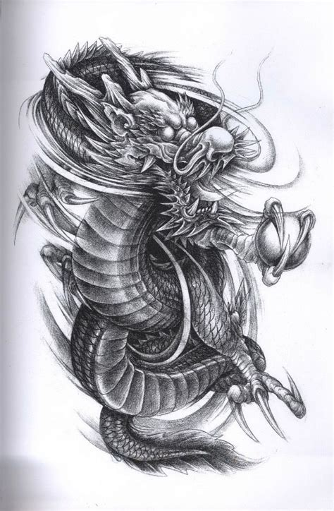 evil dragon tattoo designs design tattoos wzory