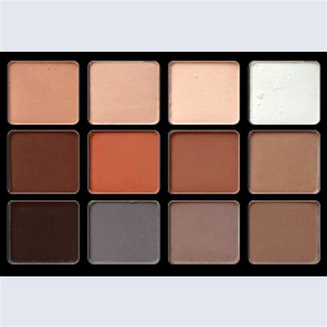 matte neutral eyeshadow palette viseart palette 12 paupi 232 res eyeshadow palette basic 01
