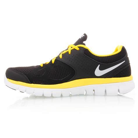 Nike Running 9 0 Black Yellow nike flex 2012 mens running shoes black white yellow