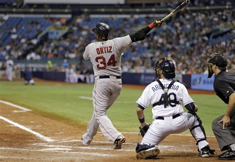 sox slugger david ortiz becomes 27th major leaguer to