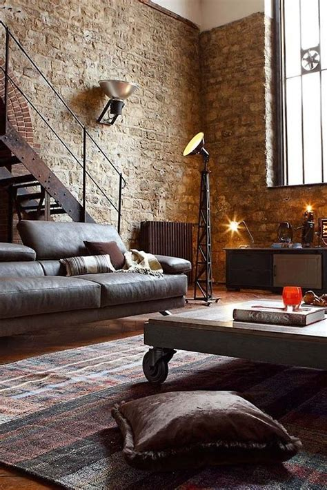 dwell home decor exposed brick spaces home house interior decorating
