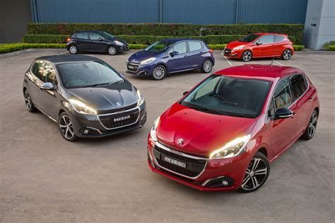 peugeot range 2015 peugeot 208 updated for 2015 on sale in australia from